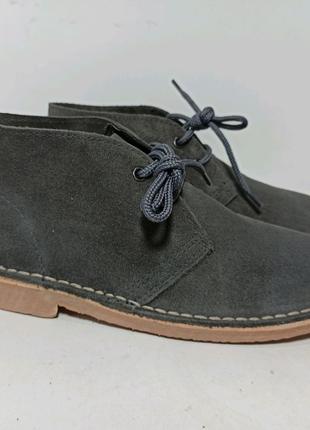 Ботинки демисезонные, натуральная замша. С35-41р в наличии Испан