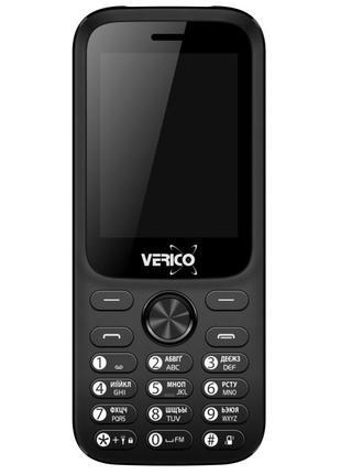 Мобільний телефон Verico Carbon M242 Black