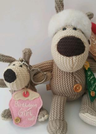 Брелок собака Буфи Boofie, подарок на день рождения, Новый год