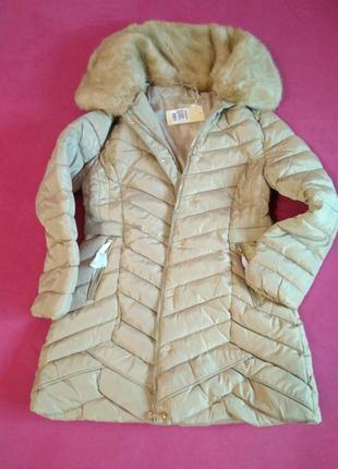 Женский теплый пуховик ,куртка ,пальто