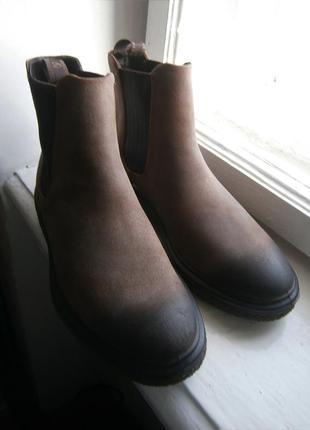 Ботинки ecco crepetray hybrid 200944 оригінал натуральна прома...