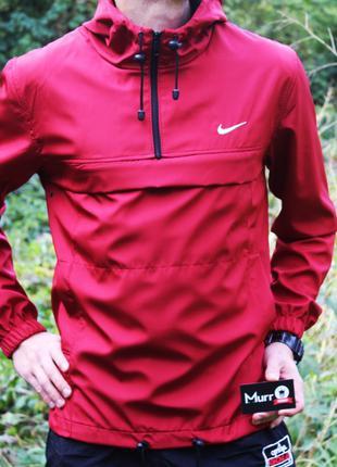 Анорак Nike красный