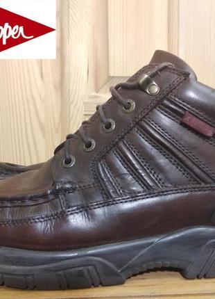 Мужские кожаные ботинки lee cooper (оригинал) 44 р.