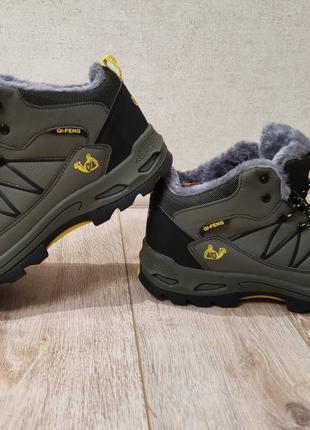 Ботинки зимние 45,5-46р (30.5 стелька) водонепроницаемые