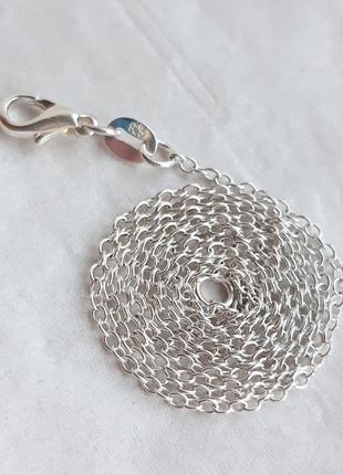 Серебряная цепочка ЯКОРНОГО плетения, 925 проба, 45 см