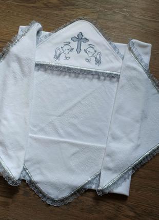 Крестильная крыжма для крещения под заказ новорожденному