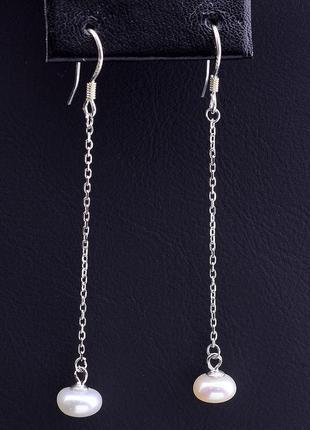 Серьги 'sunstones' жемчуг серебро(925) 0790520
