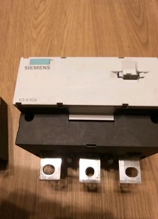 Трансформатор тока Siemens 63-630A с реле от перегрузки сети