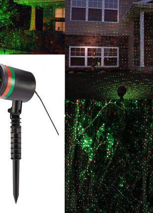 Лазерный проэктор Star shower laser диско лазер уличный