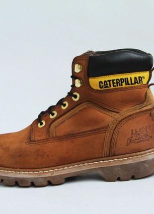 Непромокаемые кожаные ботинки Caterpillar