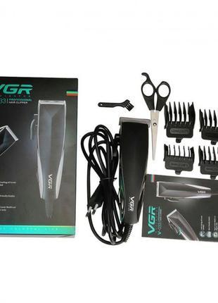 VGR V-033 профессиональная машинка для стрижки волос