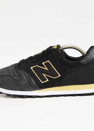 Женские кроссовки кожаные New Balance 373