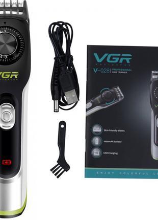 VGR V-028 профессиональная машинка для стрижки волос триммер