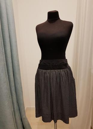 Шелковая юбка zara