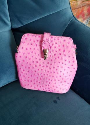 Кроссбоди сумочка genuine leather с италии