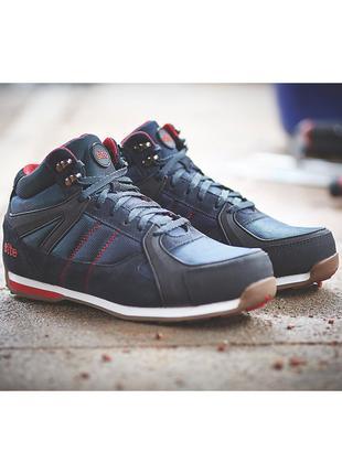Ботинки кроссовки рабочие. защитная обувь, кожаные ботинки.