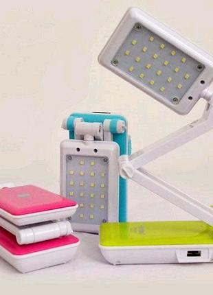 Настольная складная светодиодная лампа TopWell
