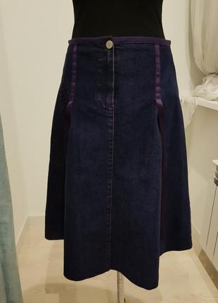 Винтаж джинсовая юбка laurel