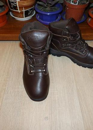 Ботинки cj footwear mens waterproof lace up ankle winter boots