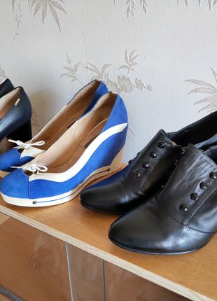 туфли, полуботинки