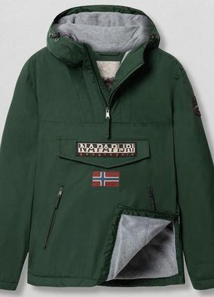 Анорак napapijri куртка з утепленняи