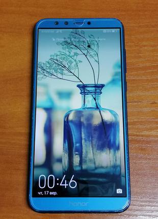 Смартфон Huawei Honor 9 Lite 3/32GB Sapphire Blue Global