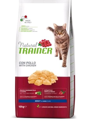 Сухой корм для кошек Trainer Super Premium Adult  Fresh Chicken