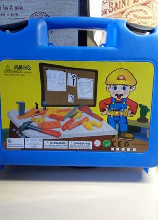Игрушка набор инструментов в чемодане+ подарок трансформер Дракон