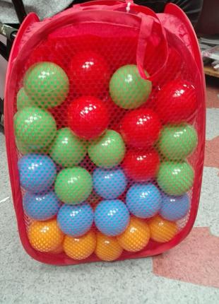 Детские шарики для сухого бассейна