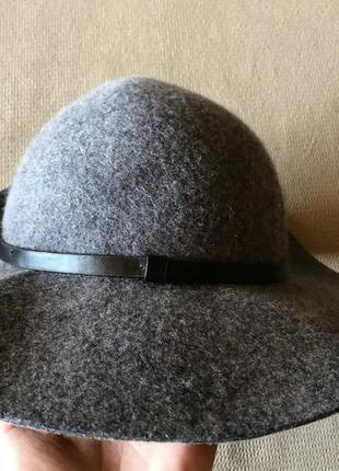 Шляпа, капелюх, шапка фетровая accessorize