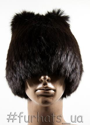 МЕХОВАЯ ШАПКА «КАМИЛЛА» Женская шапка из натурального меха