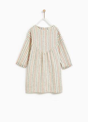 Платье zara для девочки на 9 лет