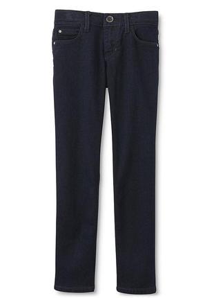 Темно - синие джинсы skinny для девочки фирмы route 66. размер...