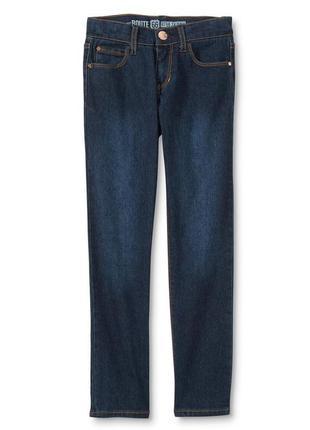 Синие джинсы skinny для девочки фирмы route 66. размеры от 6 д...