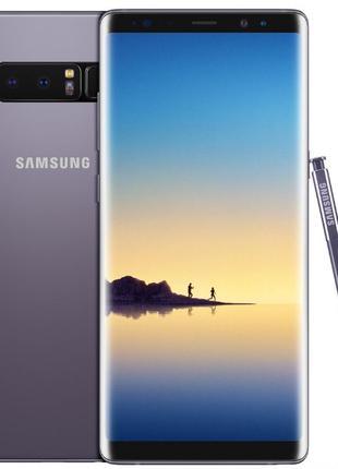 Новый Samsung Galaxy Note 8 64GB N950U (Gray Gold Blue) гарант...