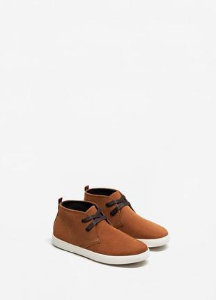 Высокие кожаные туфли mango - 35, 36