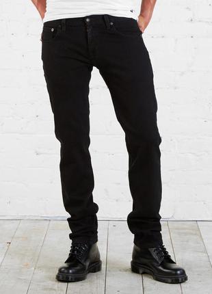 Джинсы мужские черные adam levine - skinny fit - 32, 34