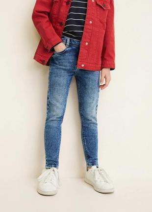 Стильные джинсы skinny для девочки mango. все размеры от 4 до ...