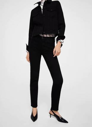 Черные джинсы straight anna от mango - 36