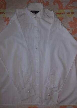 Рубашка белая мальчику в школу