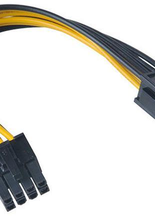 Переходник питания для видеокарт GPU 6 pin to 8 pin PCI-E