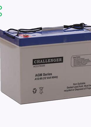 Аккумулятор AGM - 80 Ач, 12В гелевый Challenger A12-80