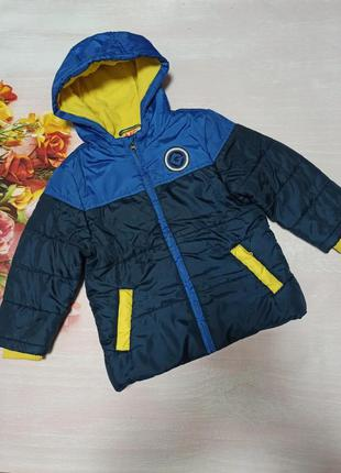 Куртка деми/зима bhs minion р.110-116