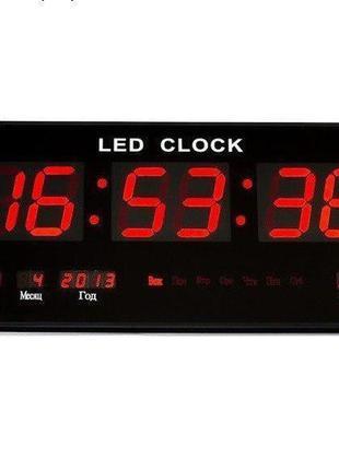 Электронные настенные часы VST-3615 электронные часы будильник