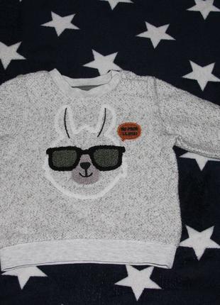 Детский свитер фирма Baby club. на 9-12 месяцев (80 см )