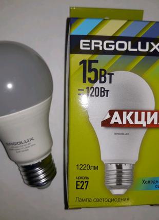 Лампа светодиодная 15 вт,лед лампочка,LED,белый свет цвет,Е27,15в