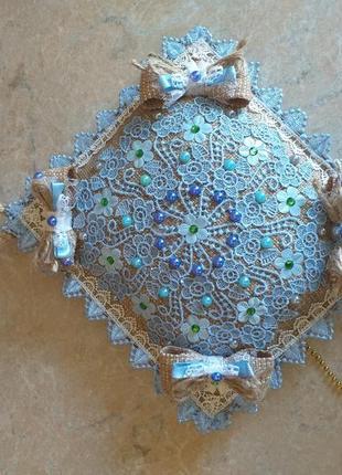 Декоративна подушка авторська робота