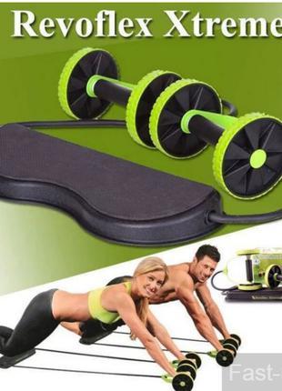 Фитнес-колесо Revoflex Xtreme. Силовой тренажер