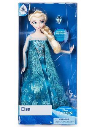 Кукла Эльза Холодное сердце с кольцом Дисней Elsa Frozen Doll ...