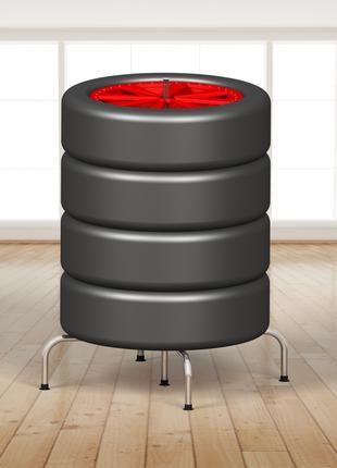 Модный стеллаж для хранения колес - (Model-1324HD2)